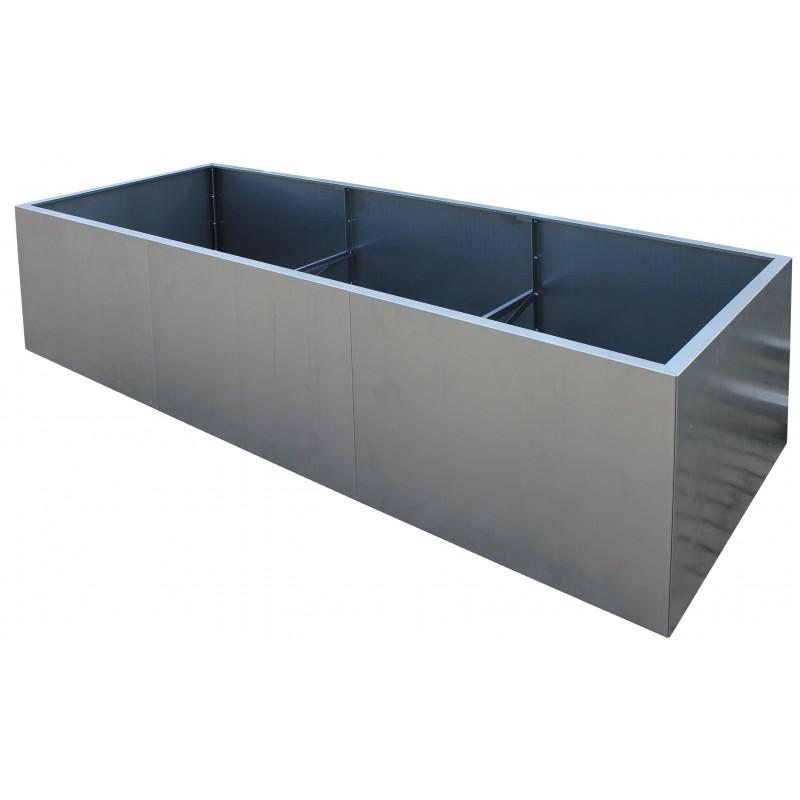 Design Pflanzkubel Pflanztrog Aus Metall Corten Edelrost Dekoration