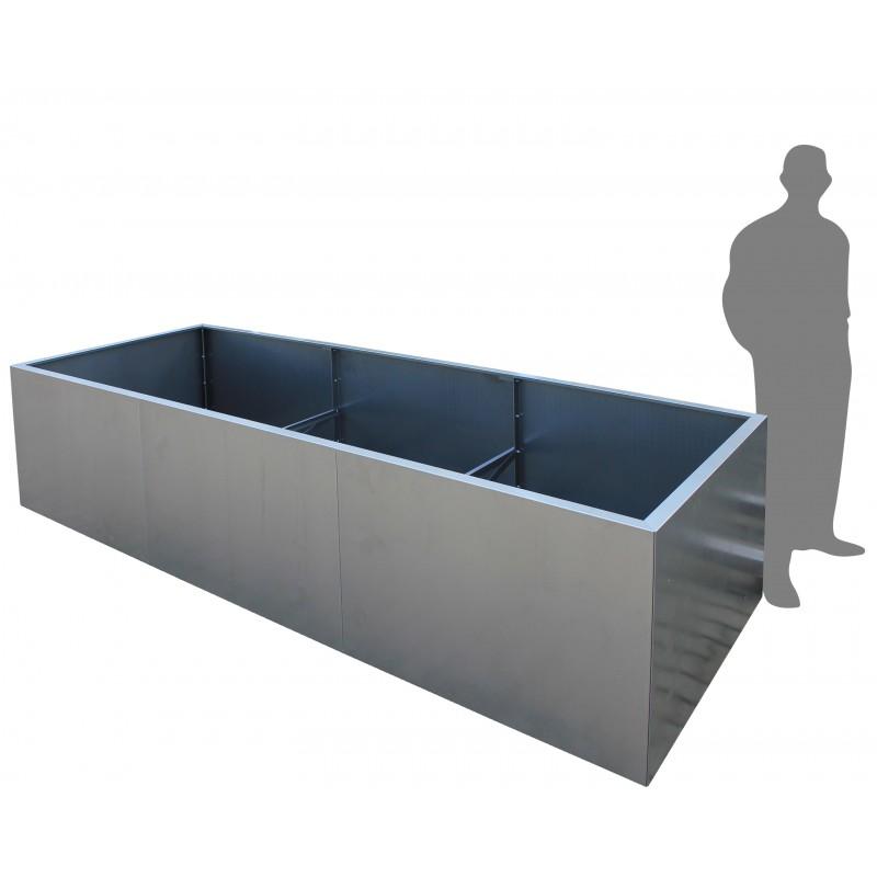 design pflanzk bel pflanztrog aus metall corten. Black Bedroom Furniture Sets. Home Design Ideas