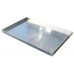 Aluminiumwanne 90 x 60 cm