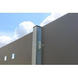 Pfosten für Sichtschutzzaun | H 1,8 m