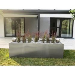 Hochbeet EDEN | Edelstahl 250x100x70 cm