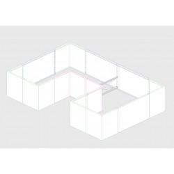 Hochbeet EDEN Breite 100 cm | Corten