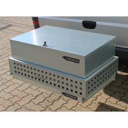 CARGOBOAR Staubox abschließbar für Wildträger / Heckträger Premium | 130 Liter