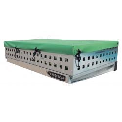 Abdeckplane für Heckträger | 90 x 60 cm / Ladungssicherung