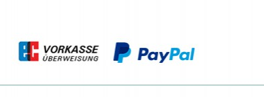 Zahlung & Versand links